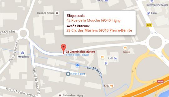 42 rue de la Mouche 69540 Irigny
